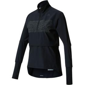 adidas Supernova Storm 1/2 Zip Shirt Women black